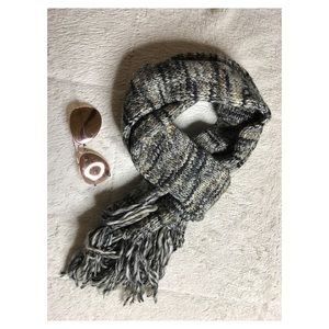 Army Green Knit Scarf